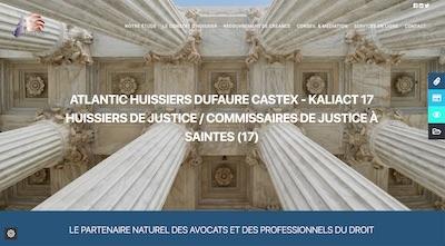 SCP Atlantic Huissiers, Dufaure et Castex – Kaliact17