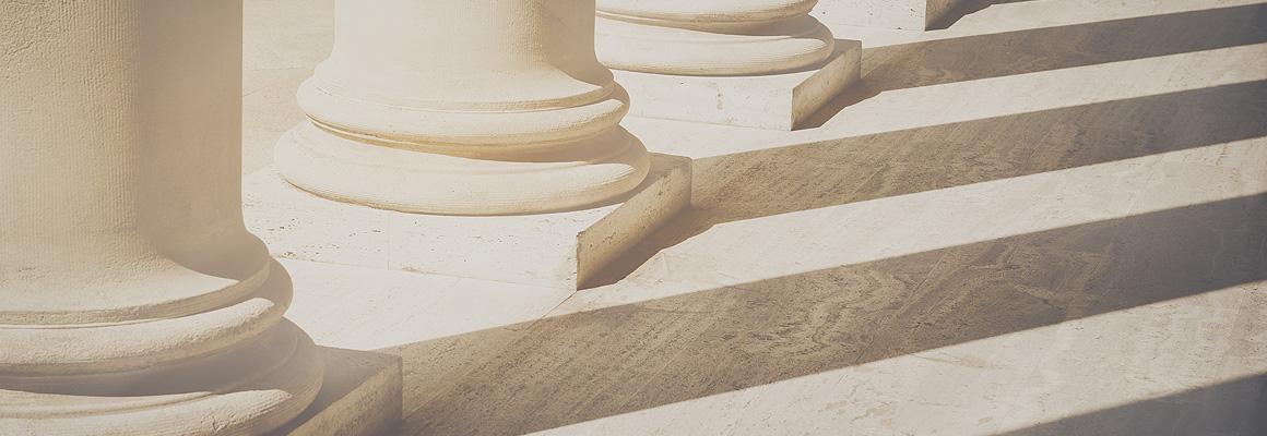 colonnes de palais de justice
